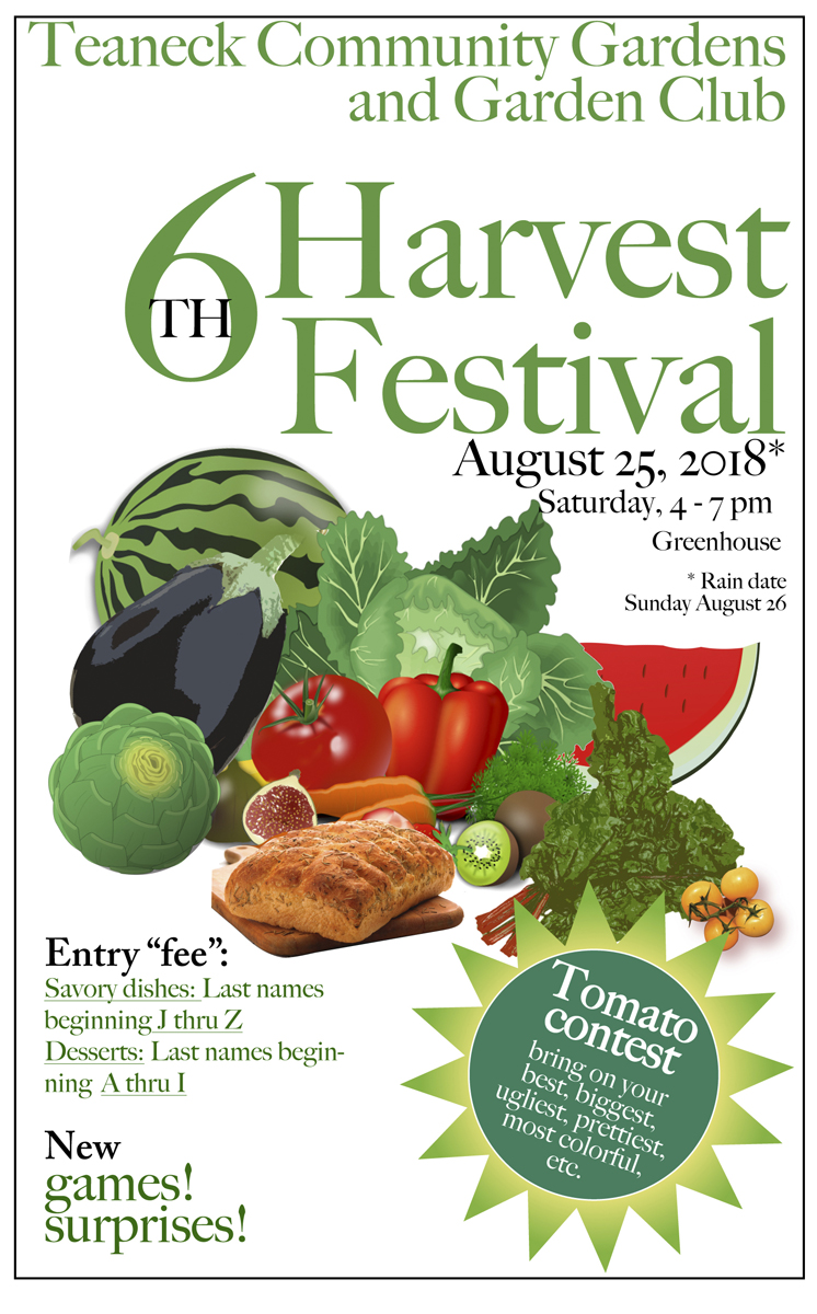 Sixth Annual Harvest Fest, 4   7 Pm, Greenhouse